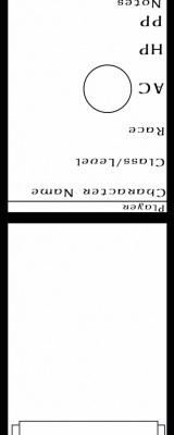 blank initiative card