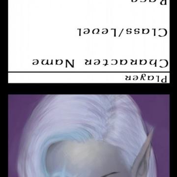 Female Drow Sorcerer