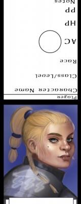 dwarf female cleric