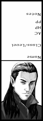 Male elf/shadar-kai