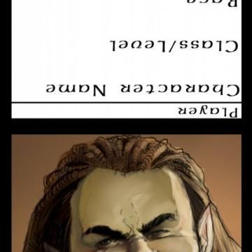Half Orc Paladin