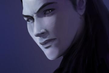Aelron, or Ren? Elven Rogue