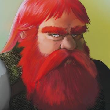 Sidriek Dwarf Cleric