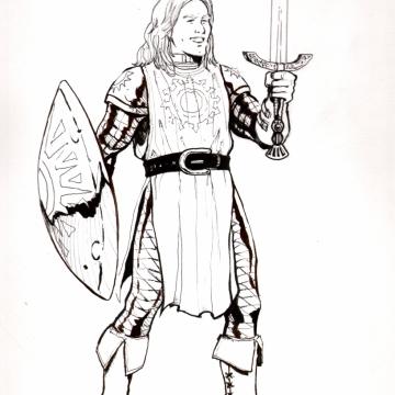 Varis Dalathan, Paladin of Lathander