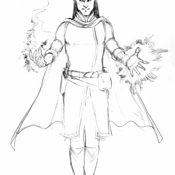 Zanzabar the Evocation Wizard